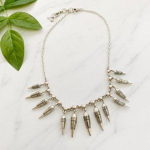 Lucky Brand Silver Bullet Necklace